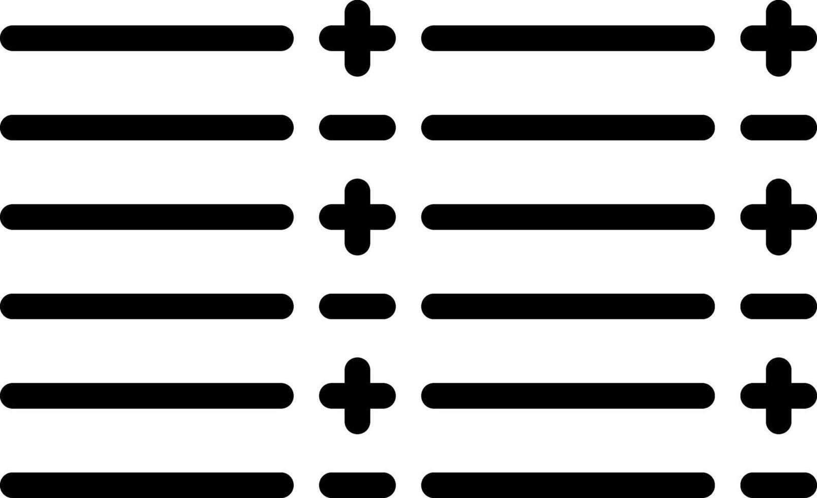 Liniensymbol für Lager vektor