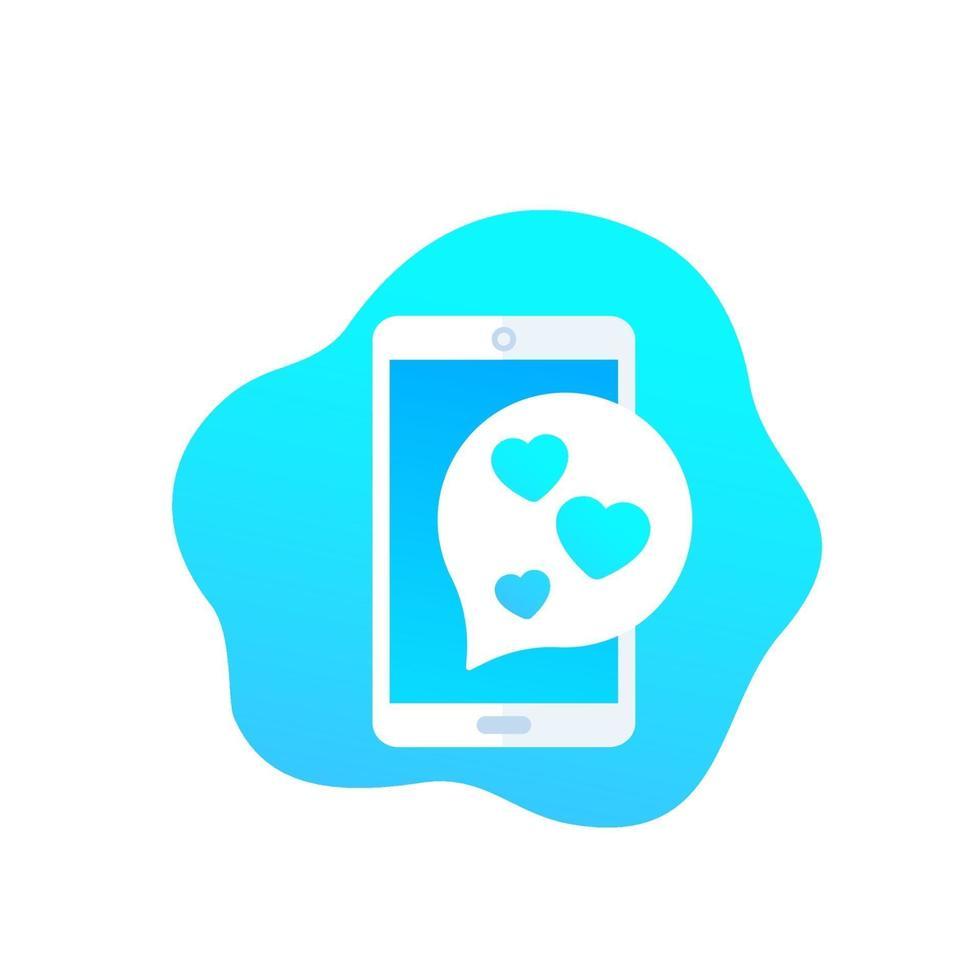 positiv feedback-ikon, vektor