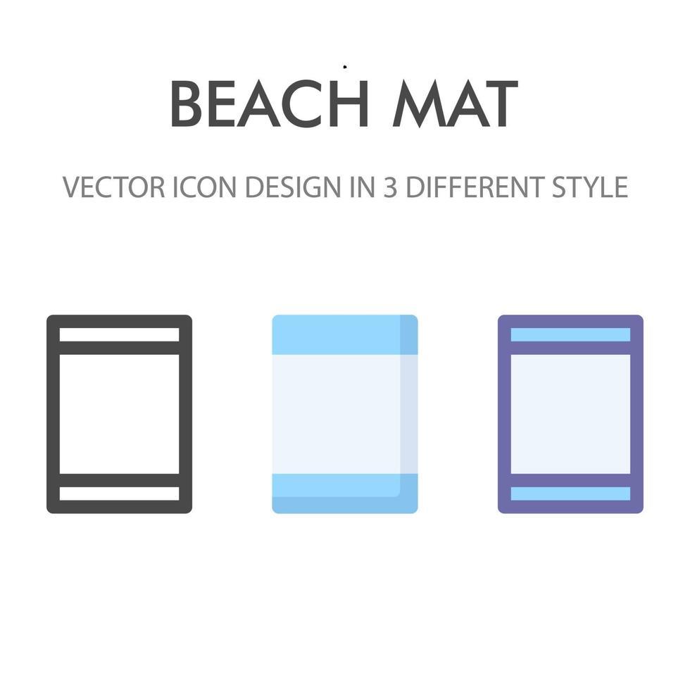 matta ikon pack isolerad på vit bakgrund. för din webbdesign, logotyp, app, ui. vektorgrafikillustration och redigerbar stroke. eps 10. vektor