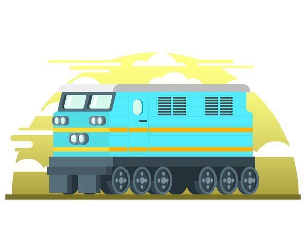Lokomotive Abbildung vektor