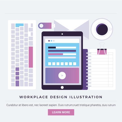 Vector Digital Design Elemente und Elemente