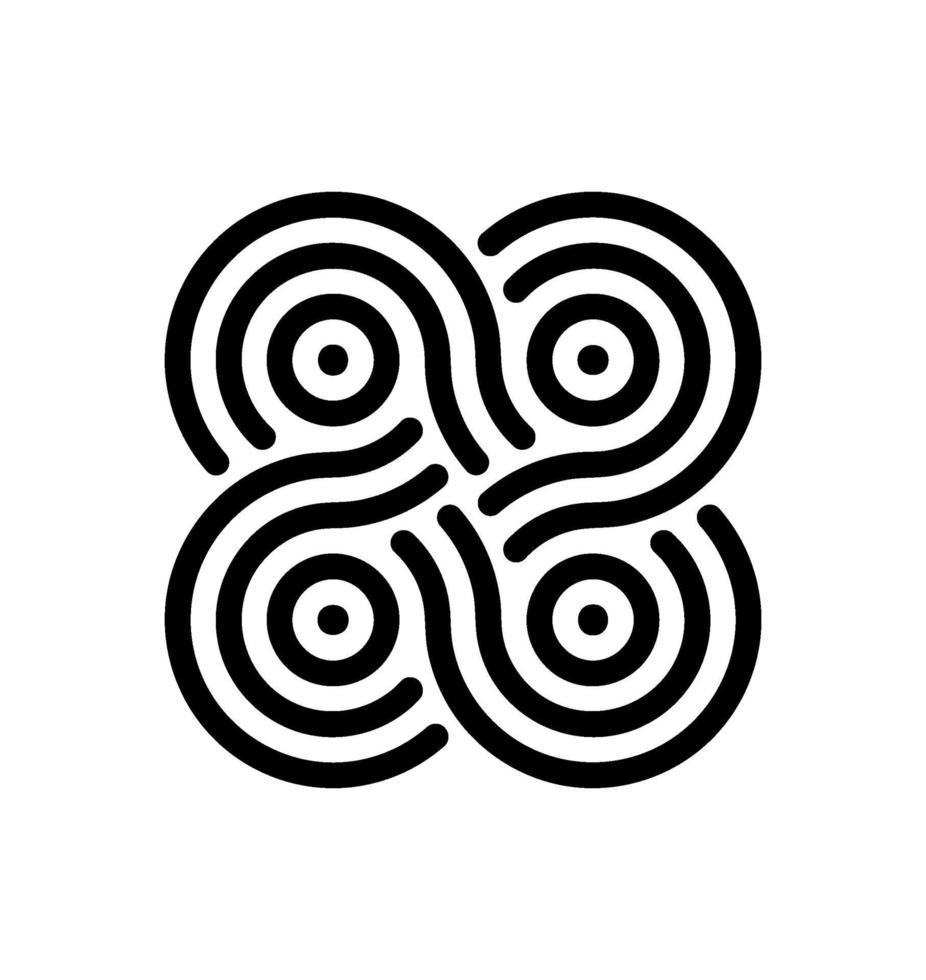 drone infinity-ikonen vektor