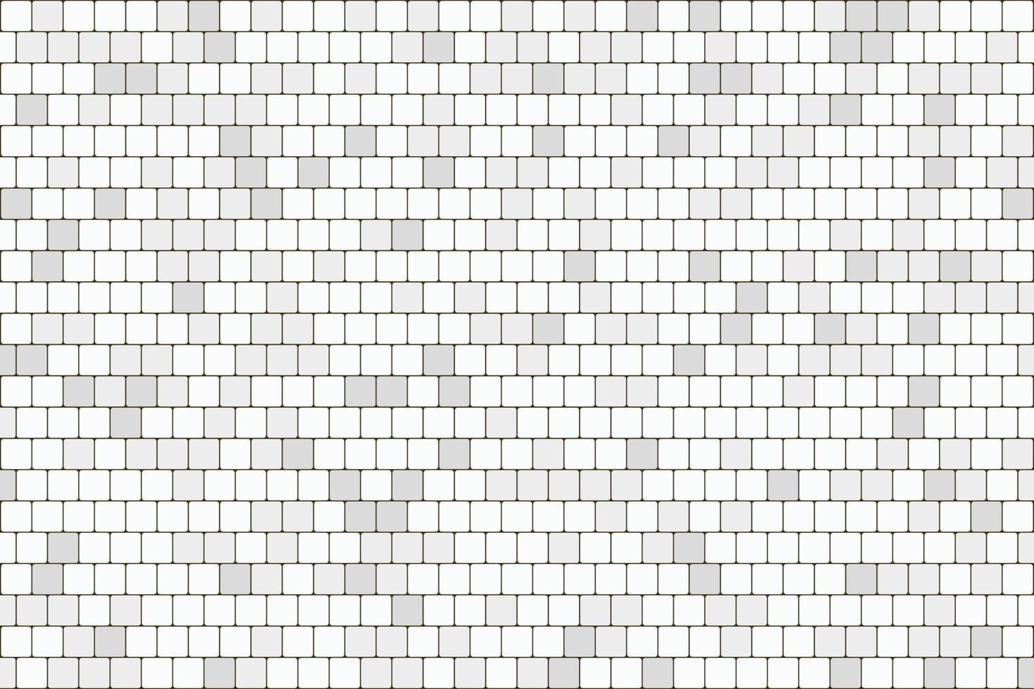 abstrakt vit och grå fyrkantig tegelvägg mönster konstverk bakgrund. illustration vektor eps10