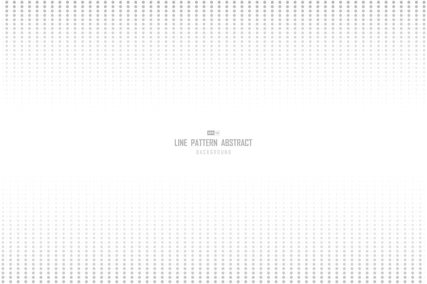 abstrakt minimal mönster halvton linje mall design bakgrund. illustration vektor eps10