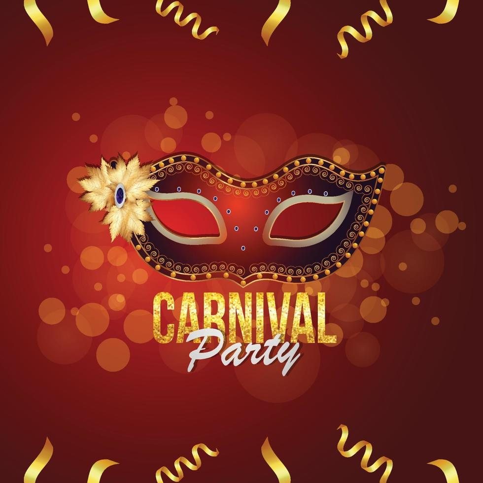 populär händelse i Brasilien karneval fest bakgrund vektor