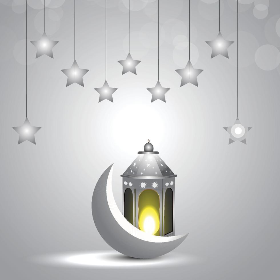 islamisches Festival Ramadan Kareem Design-Konzept und Hintergrund vektor