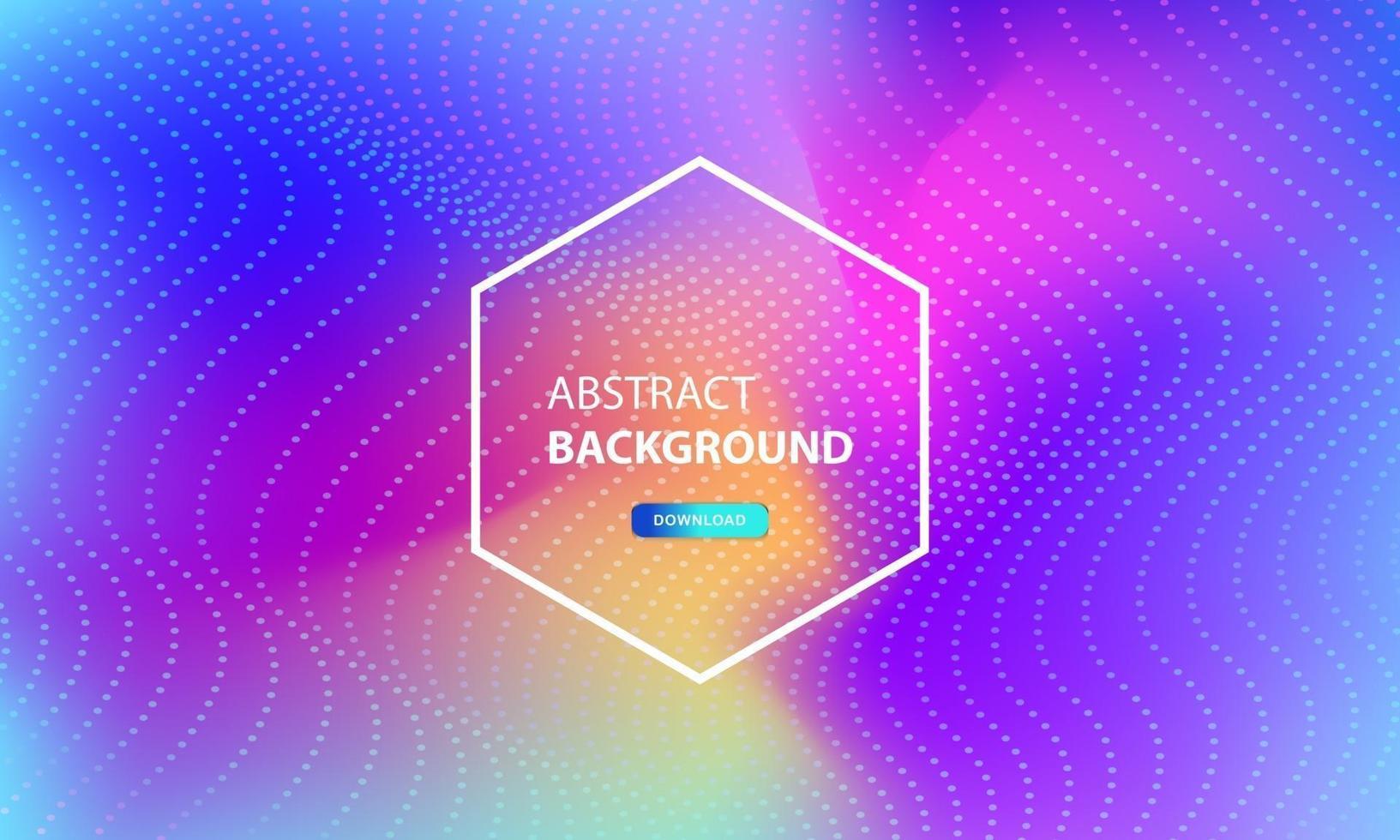 abstrakter Partikelflusshintergrund mit Punktkombination. dynamischer abstrakter flüssiger Partikelhintergrund. vektor