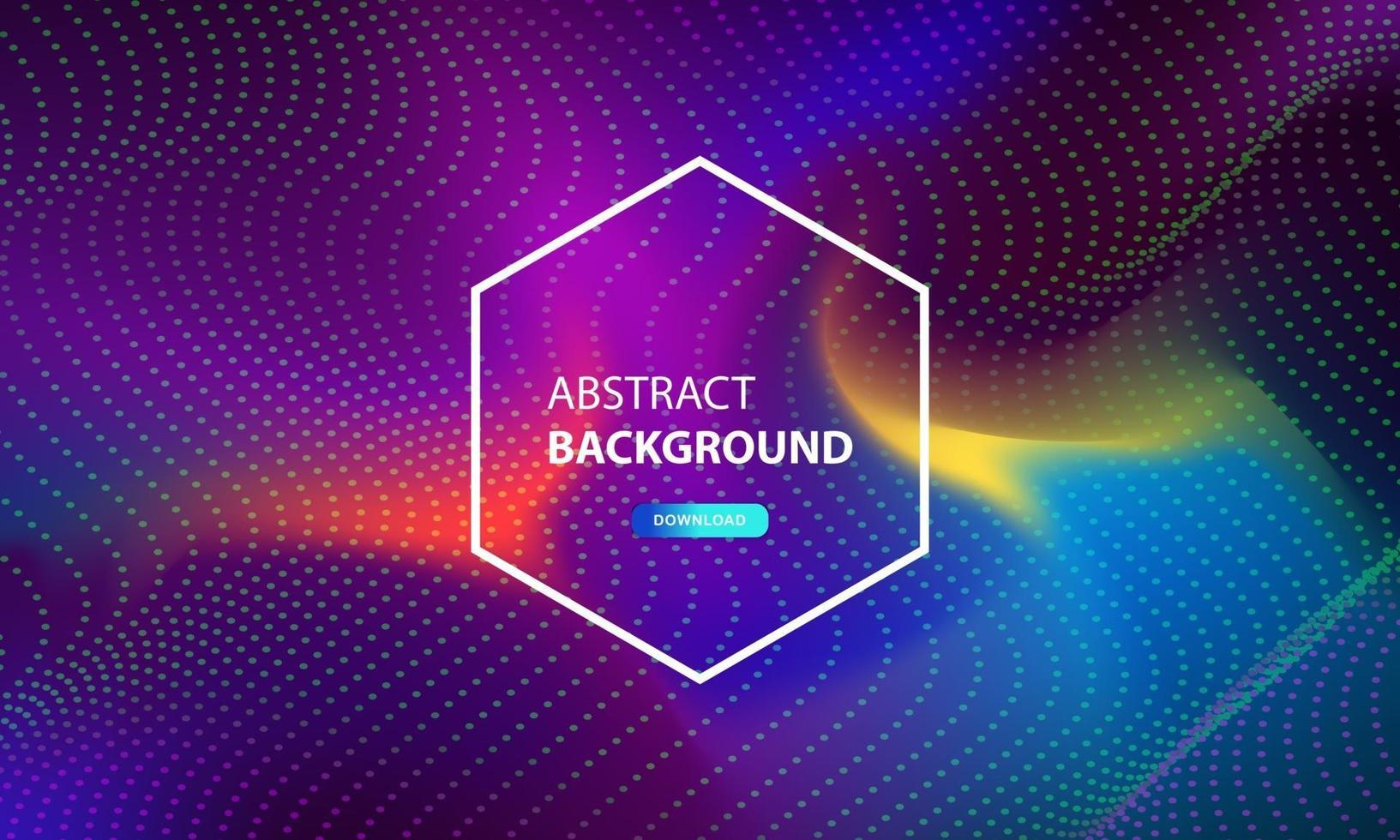 abstrakt partikelflödesbakgrund med prickkombination. dynamisk abstrakt flytande partiklar bakgrund. vektor