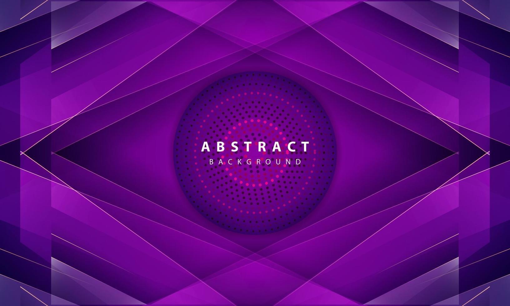 moderner abstrakter lila Hintergrundvektor. Layoutdesign mit dynamischen Formen vektor