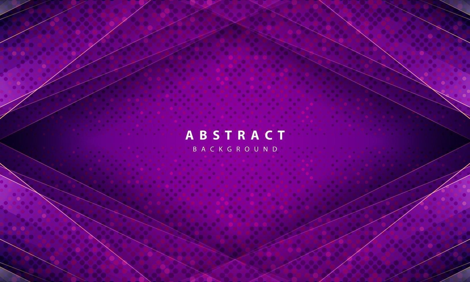 modern abstrakt lila bakgrundsvektor. layoutdesign med dynamiska former vektor