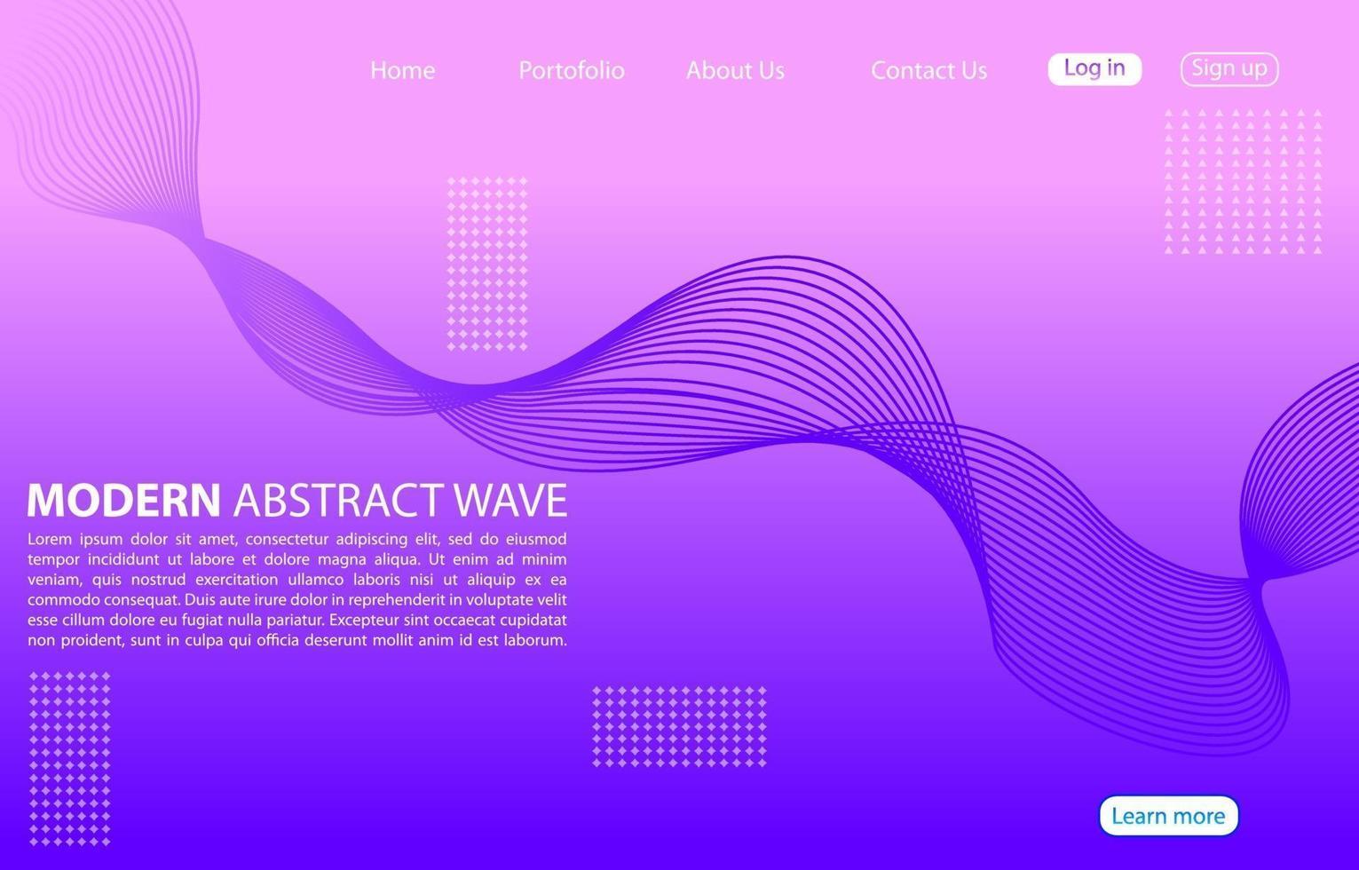 modern abstrakt linje färg bakgrund. hem sida abstrakt design. lila bakgrund. vektor