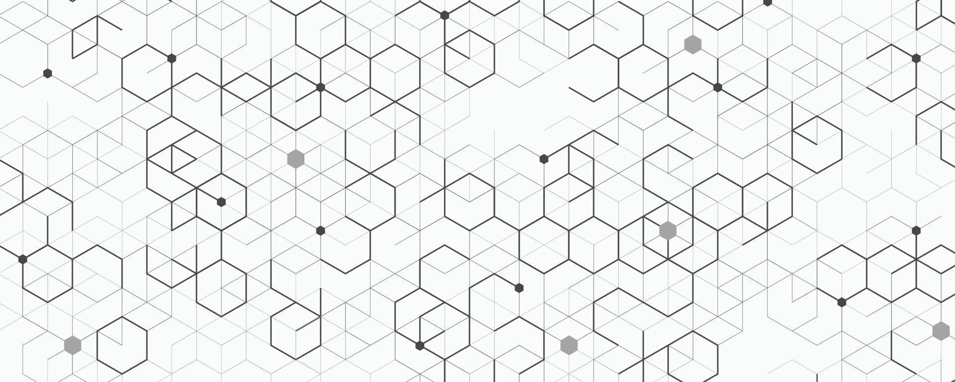abstrakte breite Darstellung des Blockketten-Technologie-Kunstwerkhintergrunds. Illustrationsvektor eps10 vektor