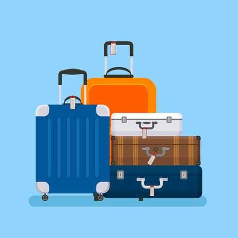 Gepäck Vektor