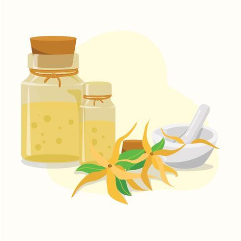 Ätherische Öle Verkauf vektor