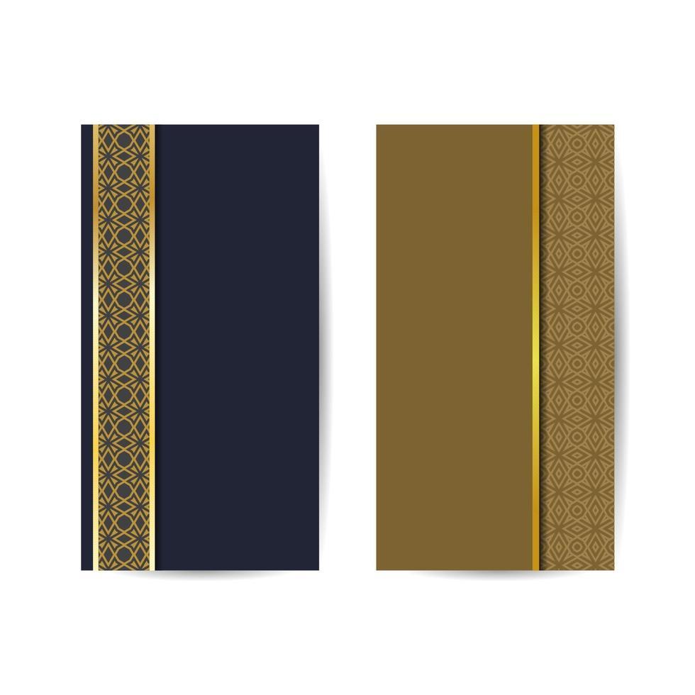 orientalisk prydnad för bakgrunden med geometriska former. islamiskt mönster är lämpligt för semesterdekorationer av kort och för olika mönster. islamisk bakgrundsbanner vektor