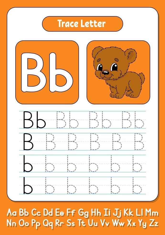 Briefe schreiben b vektor