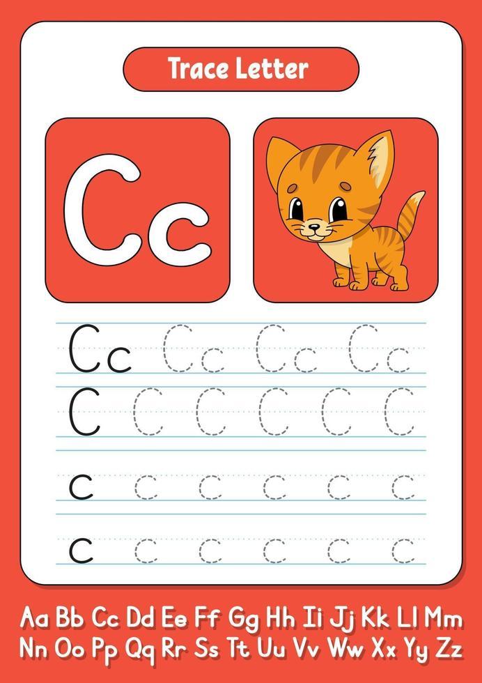 skriva bokstäver c vektor