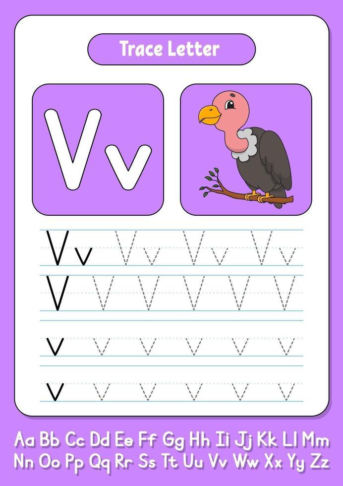 skriva brev v vektor