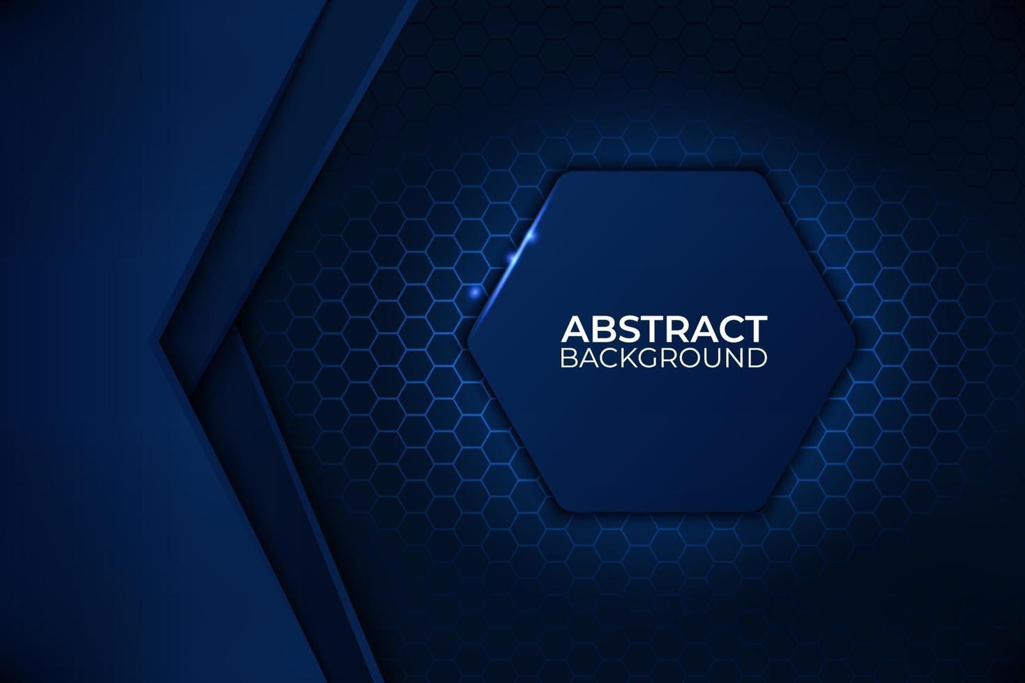 svart och blå abstrakt bakgrundsdesign, teknik företagsmall. vektor