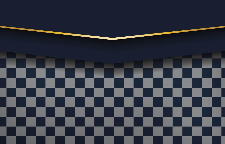 geometrischer Hintergrund des modernen schwarzen abstrakten Entwurfs vektor