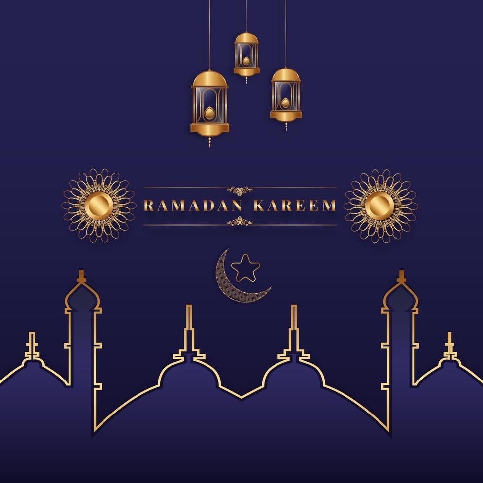 ramadan design illustration vektor