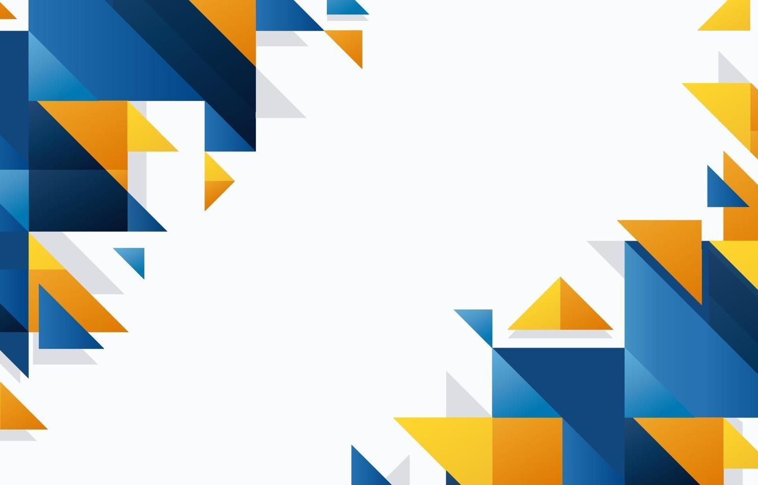 abstrakte geometrische Formen Hintergrund vektor
