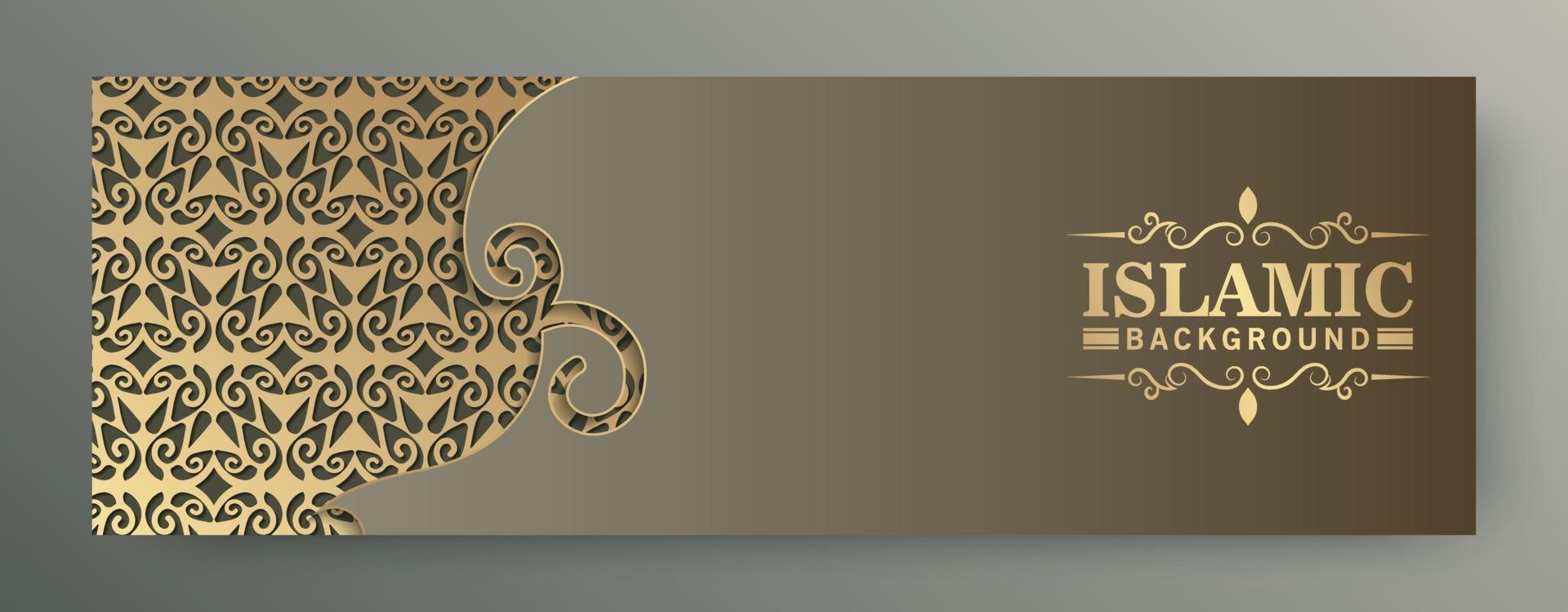Premium-Menükarte Banner Vorlage Design vektor