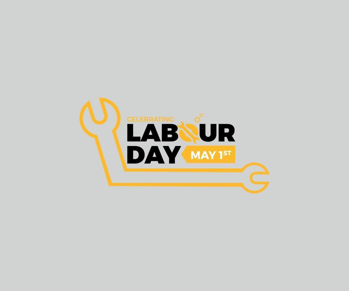 internationell arbetsdag vektorgrafik vektor