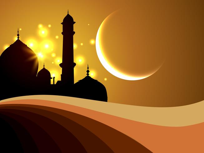 ramadan festival bakgrund vektor