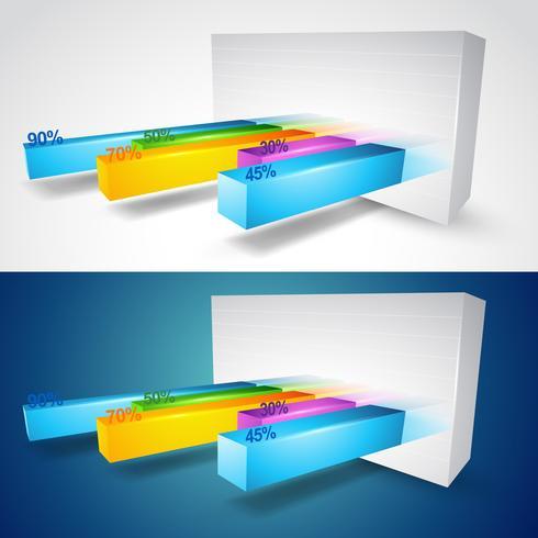 3D-Grafik vektor