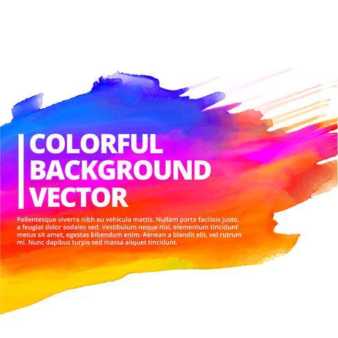 buntes Tintenspritzenhintergrund-Vektordesign vektor