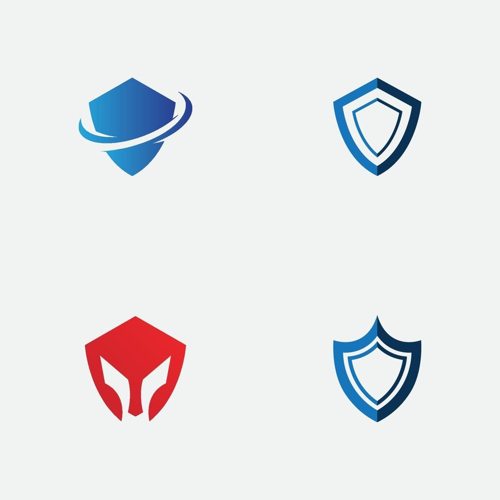 Schild Logo Vorlage Design. Vektorschild Symbol vektor
