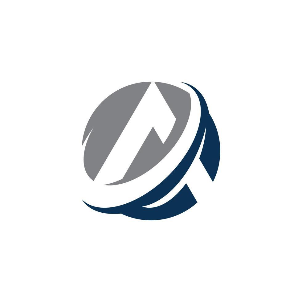 en brevlogotyp mall vektor ikon design