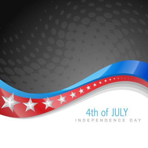 amerikanska självständighetsdagen vektor