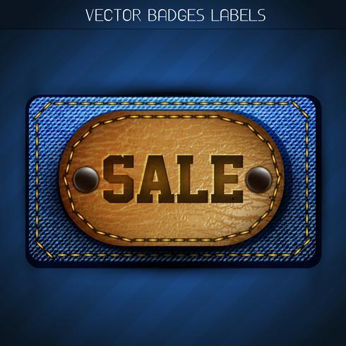 Verkauf Label vektor