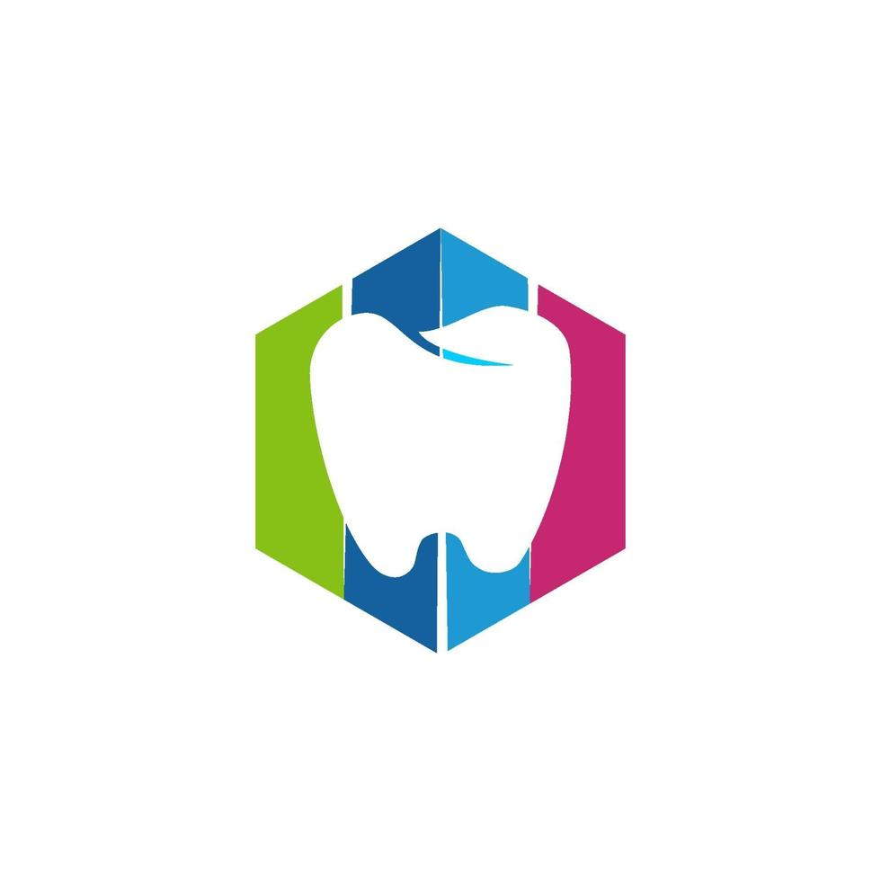 tandklinik logotyp tand abstrakt design vektor mall vbvprint