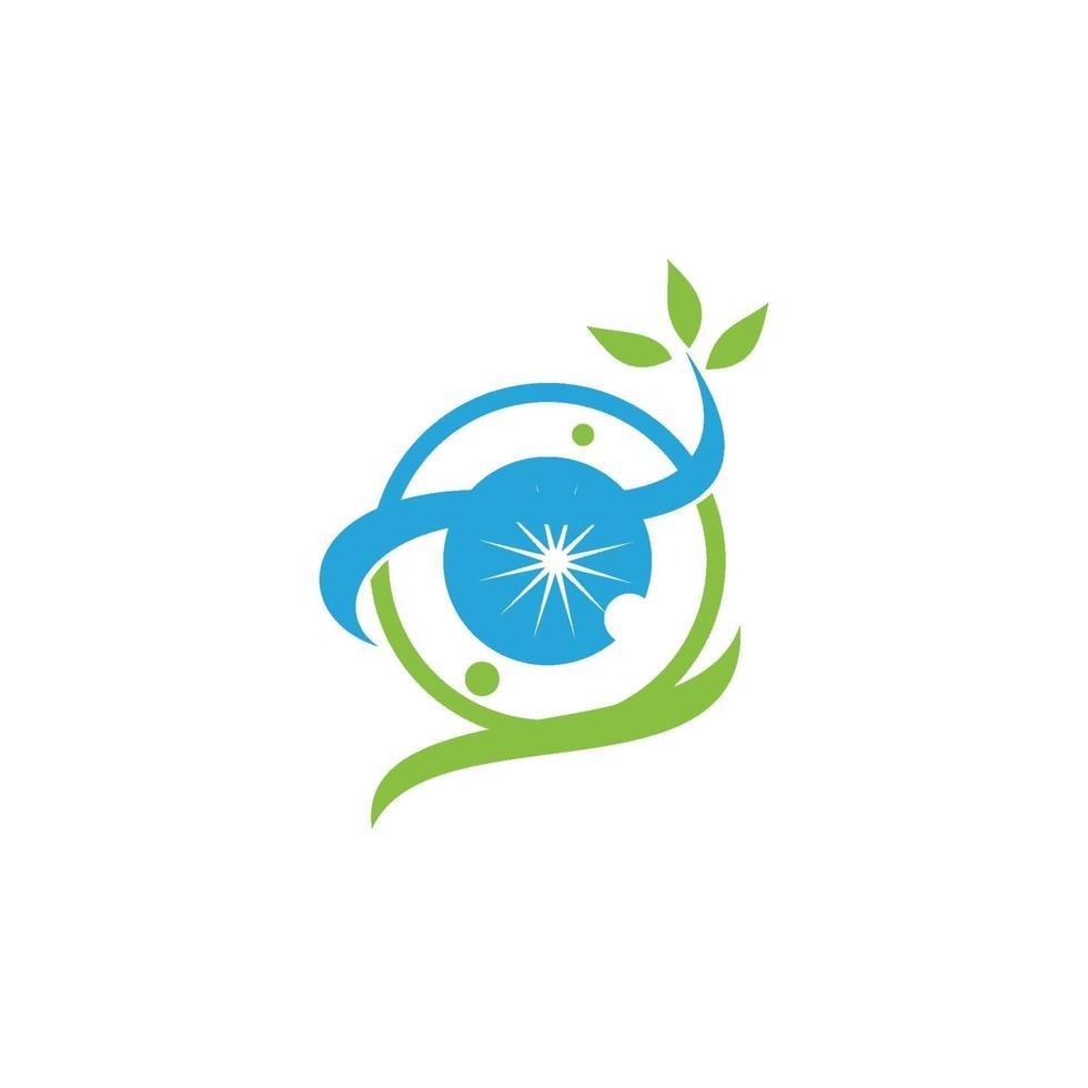 ögonvård hälsa design mall ikon vektor