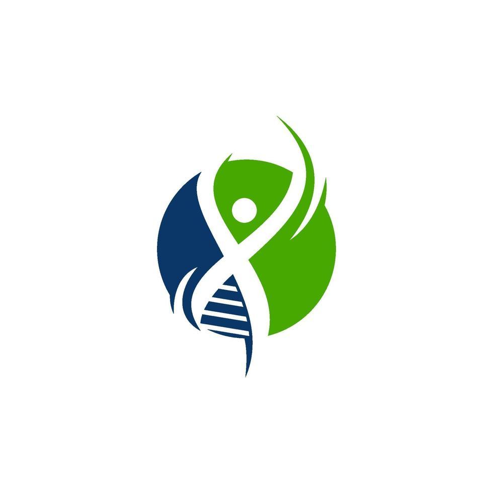 genetisk hälsa design illustration ikon koncept vektor