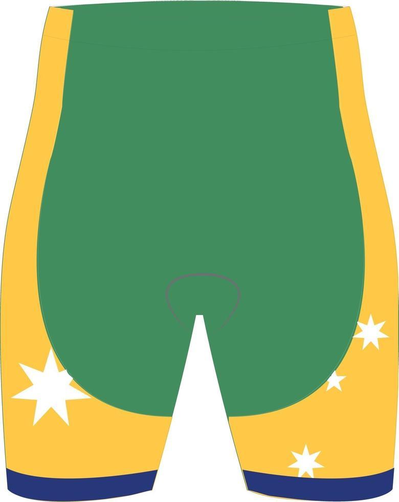 kör spanky shorts mock ups vektor