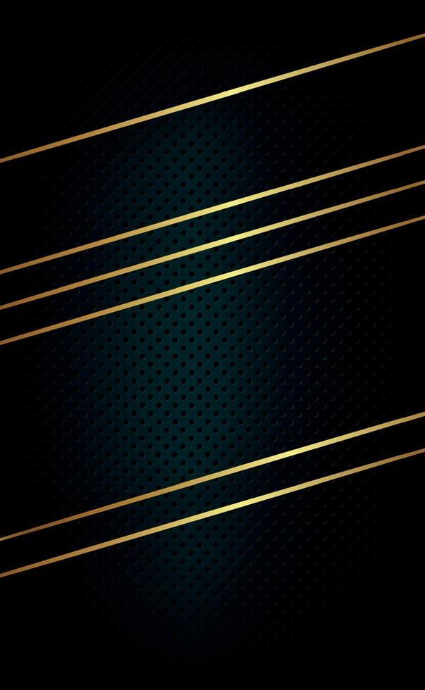 svart perforerad bakgrund med svarta hål och glöd. vektor
