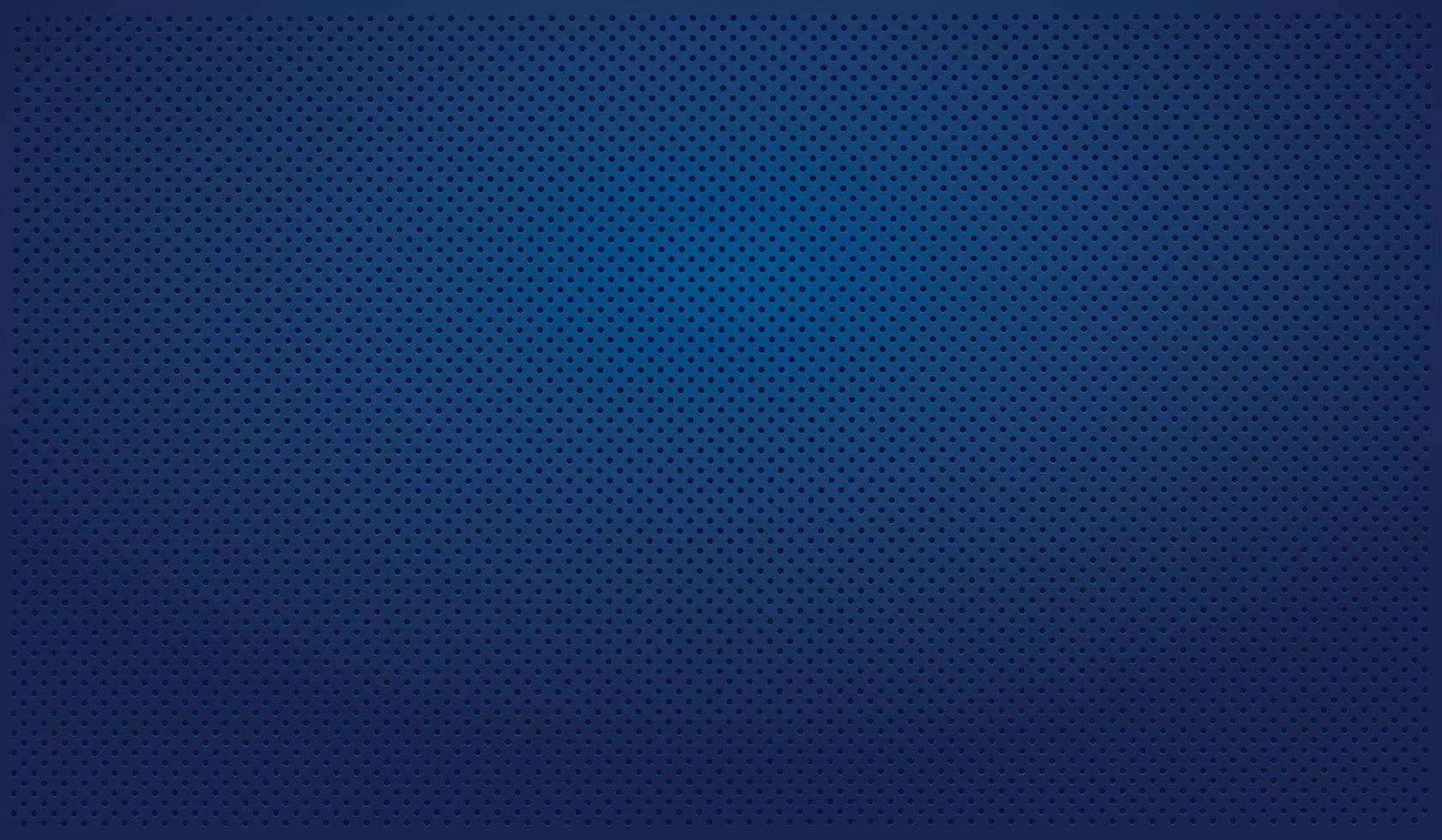 blå perforerad blå bakgrund med svarta hål och glöd vektor