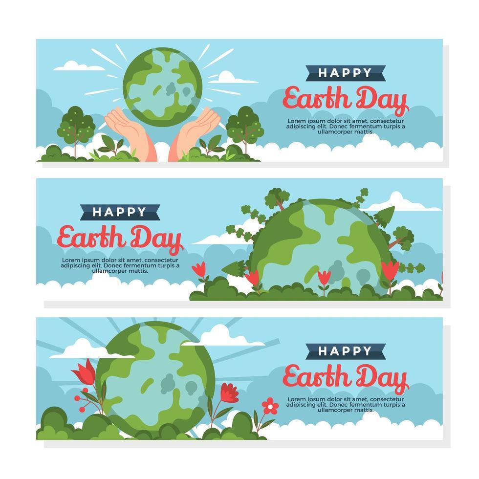 Schützen Sie die Mutter Erde, indem Sie die Umweltverschmutzung reduzieren vektor