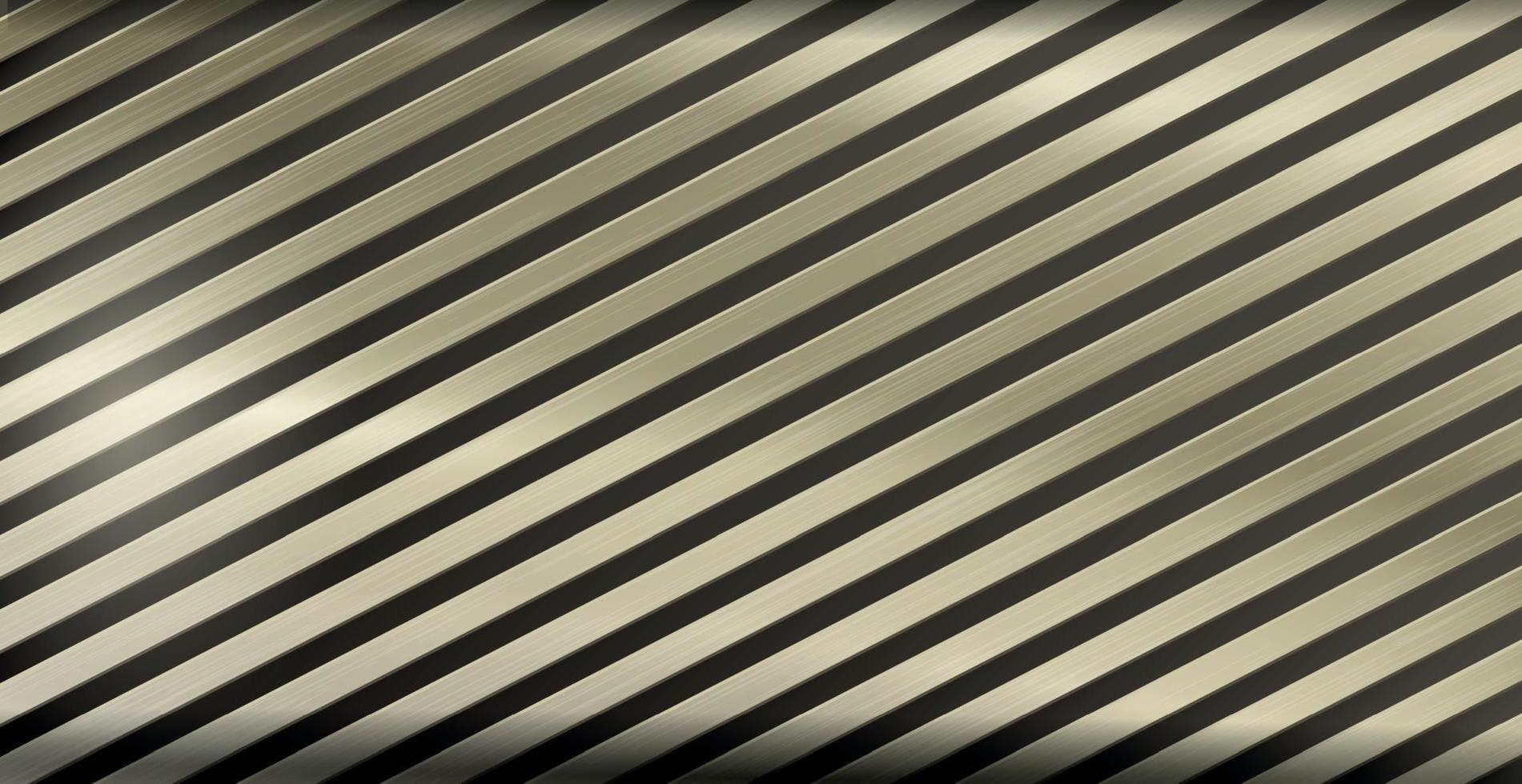 ljusmetallbakgrund med gyllene höjdpunkter, korrugerad konsistens - vektor