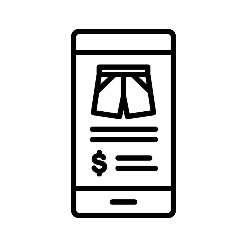 Online-Shopping-Symbol vektor