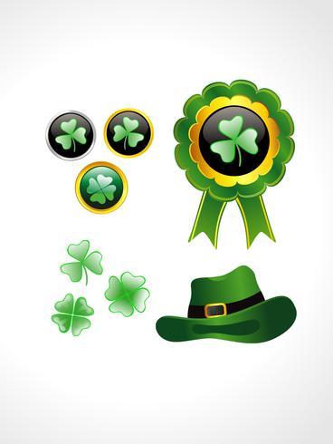 St Patrick's Day-element vektor
