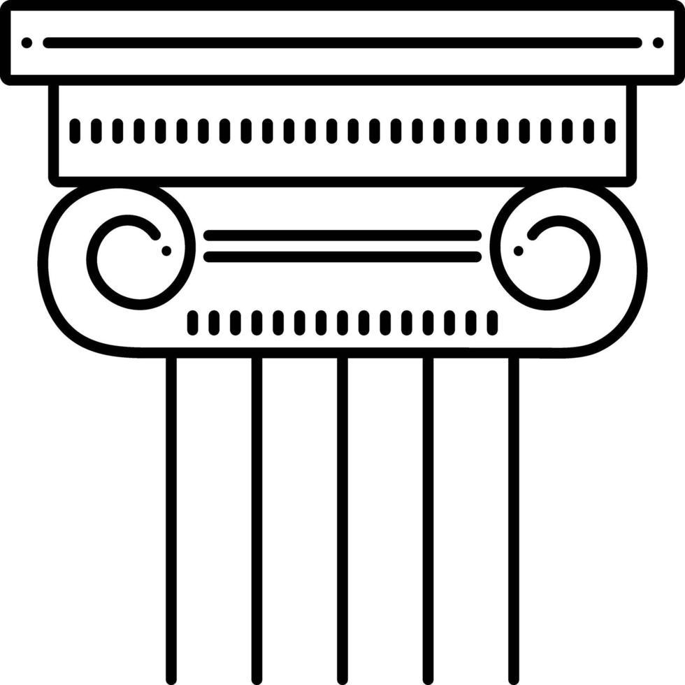 Zeilensymbol für Spalte vektor