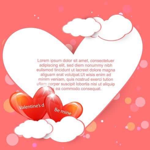 kärlek bakgrund vektor