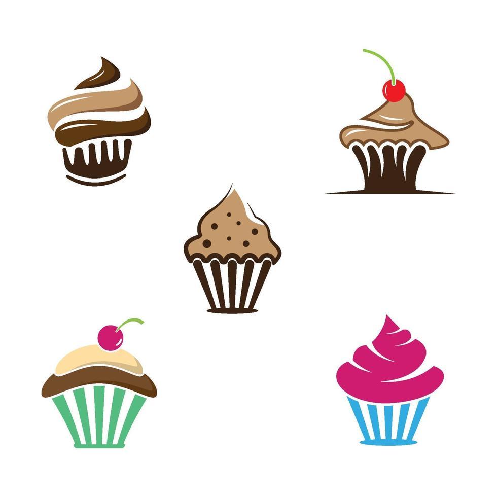 cupcake logo bilder illustration vektor
