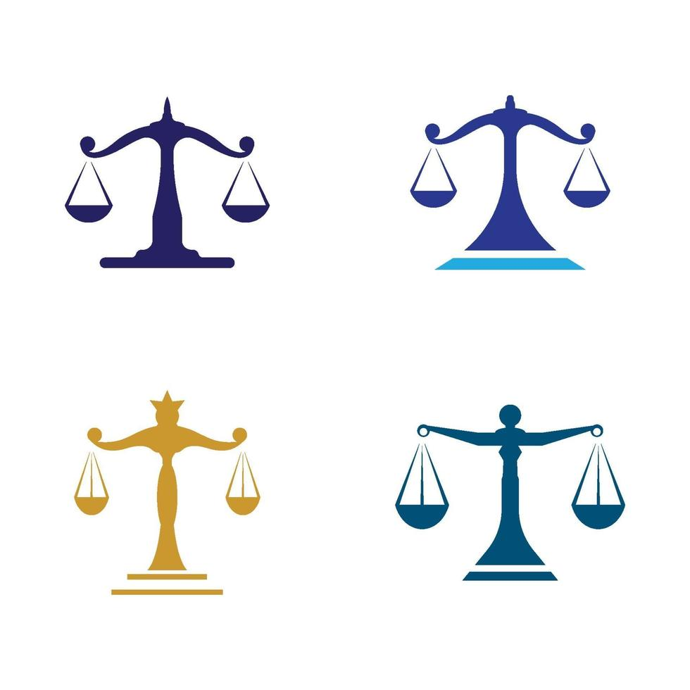 Anwaltskanzlei Logo Bilder Illustration vektor