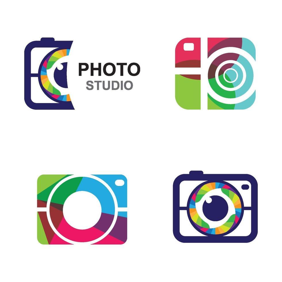 Kamera-Logo-Bilder vektor